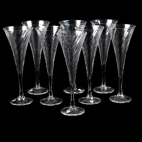 Champagneglas orrefors